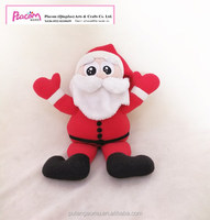 2018 Factory Supply Cheap Plush Santa Toy Cute Stuffed Soft Santa Claus Doll