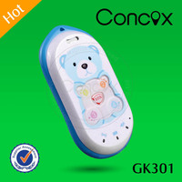 Concox GK301 Smart Phone tracker include four family number call and SOS emergency button