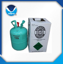 ISO9001 facory r134a cool gas refrigerant for car air conditioning