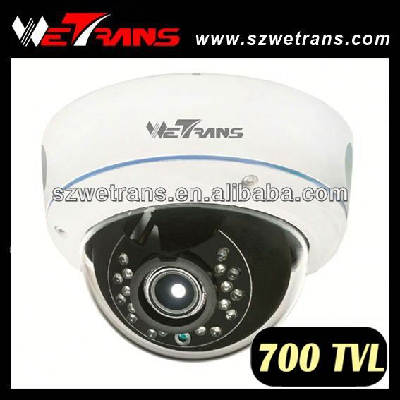 WETRANS TR-LD753IREFH 700TVL 15m Night Vision CCTV Dome 1/3 Sony Super HAD II CCD Camera