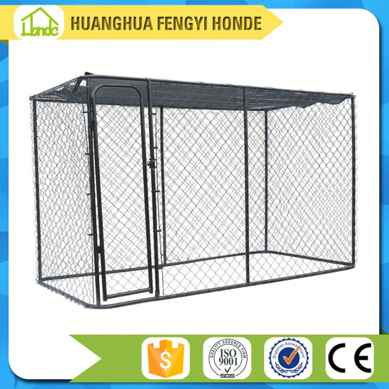 wholesale outdoor large dog kennel wholesale/large animal cages for sale/dog fence