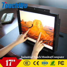 GMP factory 17 inch lcd used touch screen monitor With ISO9001 Certificate