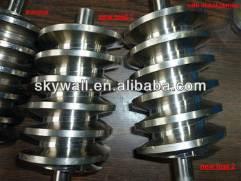 Customized High Precision Worm gear with Teeth Grinding