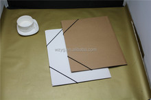 folder promotional with logo envelope folder elastic straps