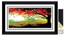 3D Frame art pictures frame decorative oil painting for bedroom J04411-018G