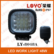 4x4 Off Road 48w Super Bright Led Worklight For ATV Tractor Truck IP68 Heavy Duty Led Work Light