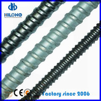 OEM Construction D15/17mm Steel Tie Rod For Formwork Thread rods