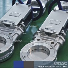 WCB/GG25 pneumatic wafer type knife gate diverter valve