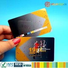 125KHz one time programme security serial number RFID card