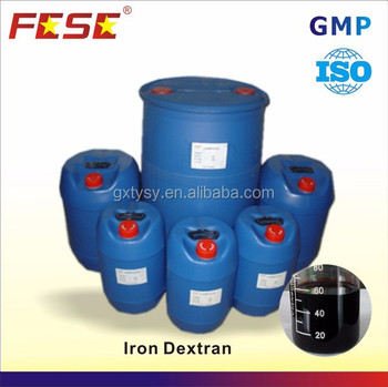 Rich experience standard iron dextran medicine for cattle