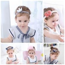 ZH1335F Baby Hair Accessories <strong>Headbands</strong> With Bow For Girls Lace <strong>Headband</strong> Hot Sale