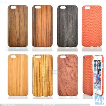 Real wood case for Iphone 6, 100% slim genuine wood case for Iphone 6s