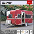 2017 New Designed Travel Trailer Caravan For Multifunctions
