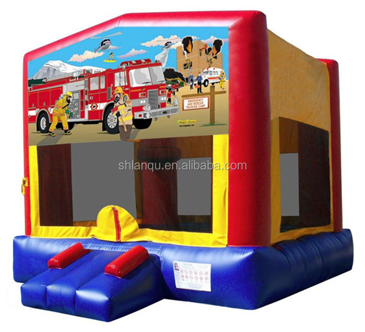Lanqu inflatable jump o lene/inflatable jumper toy