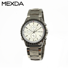 Custom sapphire glass quartz stainless steel watch 5atm water resistant man