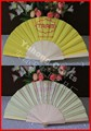 Hot selling factory hand painted spanish wood fan