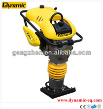 Best spare parts Imported yellow bellow soil tamping rammer with Mix fuel and oil easy starting low-noise operation