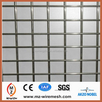 Factory Supply High Quality Rigid Welded Wire Panels /1x1 Galvanized Welded Wire Mesh