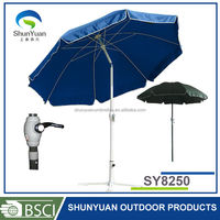umbrella frame steel wire 8.4 ft Aluminum crank and Zinc alloy tilt patio umbrella