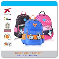 XF B-105 cute promotional mickey school bags active school bags