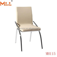 High back quality leather comfortable french louis style furniture