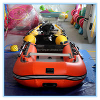 Chinese manufacturer best given price inflatable fishing boat ,inflatable boats used