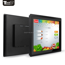 19 inch HMI input 5 Wire Resistive Touchscreen optical frame display for industrial control <strong>system</strong>