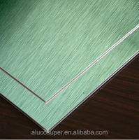Silver Brushed surface honeycomb panel aluminum coil