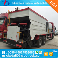 used 8*4 HOWO high-capacity huge rubber asphalt synchronous chip sealer asphalt spreader bitumen sprayer car