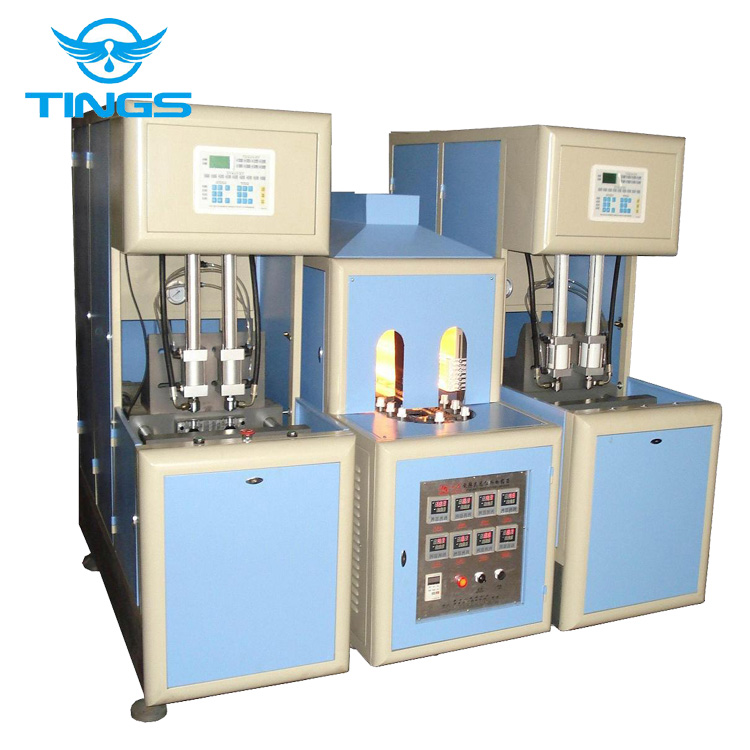 Fully automatic PET bottle blowing machine price/blow moulding machine 2 cavities 2000bph