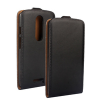 China Shenzhen Luxury UP and Down Open Leather Case for Motorola Moto X Play XT1561 XT1562 Phone Cover CA228