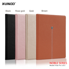 [XUNDD]Book Cover Design Stand Smart Flip Cover Case for New Apple iPad Pro 10.5 inch 2017