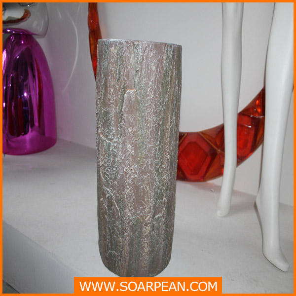 Showcase Decoration Artificial Fiberglass Tree Stumps