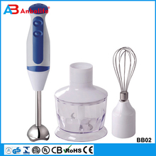 Smart Stick 3-Speed Hand Blender, 4-In-1 Multifunctional Food Processor, Stainless Steel, 400W