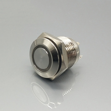 panic latching 12v lamp selector electric push button switch