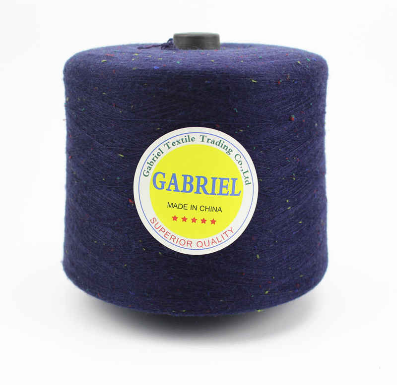New Product 50% Viscose 30% Nylon 20% PBT Wool Bended Yarn Ring Spun Knitting Wool Yarn