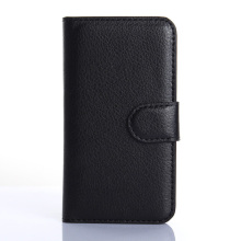 Factory leather flip top sale mobile phone cover for iphone 4 leather case