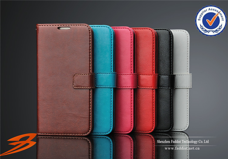 wholesale leather cell phone case for samsung galaxy s6, wallet and stand case for samsung galaxy s6