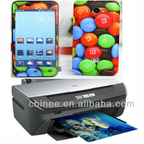 Mobile phone sticker printer for small business