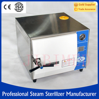 hospital steam sterilizer for surgical instruments with drying function 24L