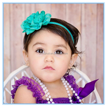 Hollow Handmade Flower Baby <strong>Headband</strong>,Children's elastic hair band,12 color optional explosion models