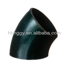 butt welded carbon steel 45 degree elbow ANSI B16.9 seamless and welding