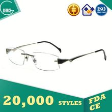 Eyeglasses Without Nose Pads, box clasp, wooden glasses