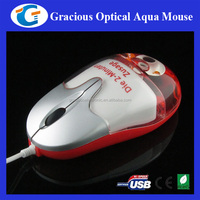 Creative corporate giveaway liquid mouse with personalized floater and logo