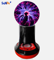 Factory New Magic Plasma Ball Wireless Bluetooth Speaker with Volume Control
