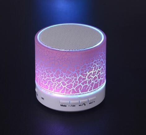 new module design 3w rgb full color bluetooth audio led lighting speaker