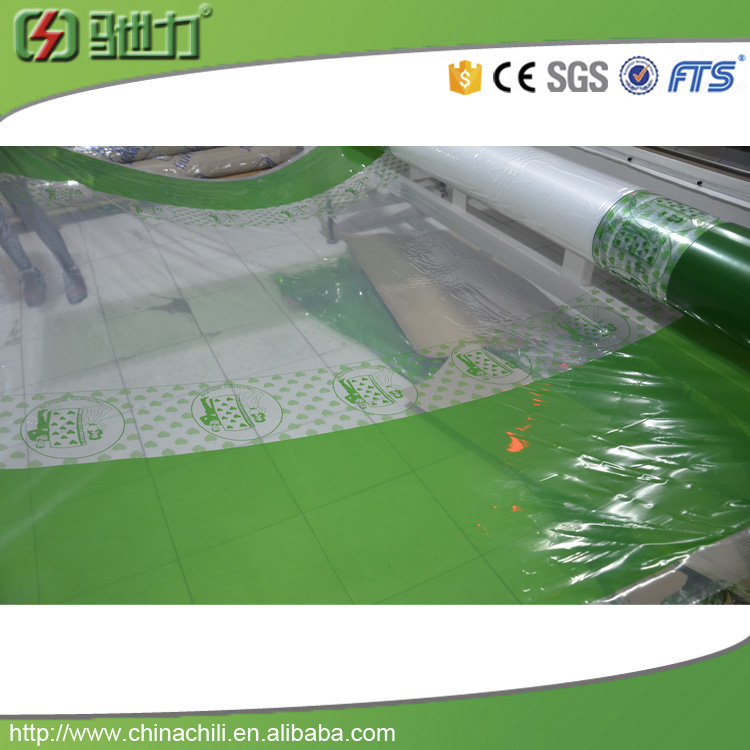 pe packing film with logo hydro printing film