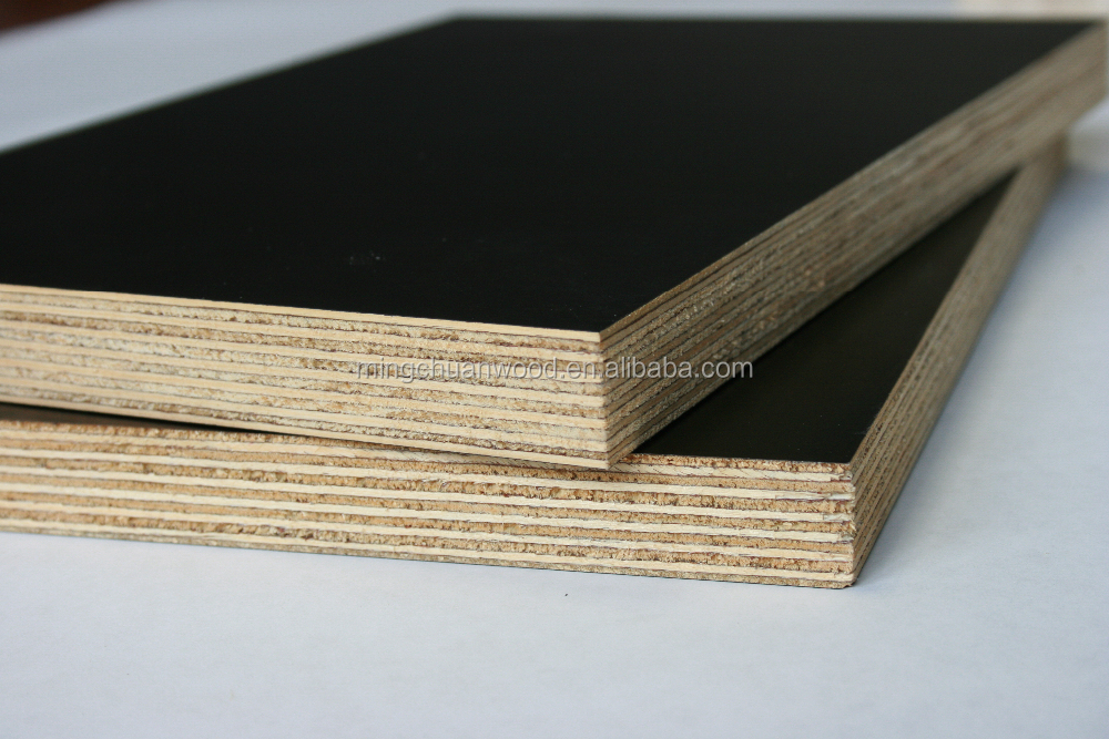 12mm 15mm 18mm Black Film Faced Plywood,Marine Plywood