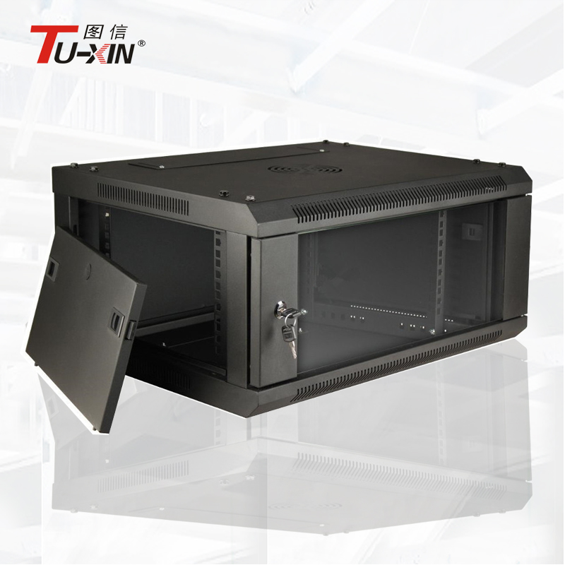 China factory OEM small wall mount rack,4u wall mount cabinet,19 inch server rack