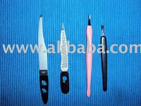 Diamond electroplated nail file